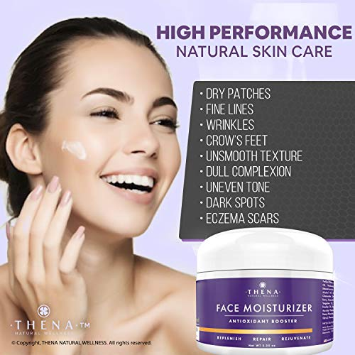 51fBq%2B69yZL - Anti Aging Face Moisturizer Cream For Dry Sensitive Skin, Organic Natural Facial Cream Anti Wrinkle Hyaluronic Acid Retinol Vitamin C, Face Lotion Eye & Face Care Skin Care Products Women Men