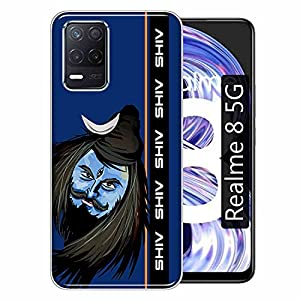 Gismo Designer Printed Soft Silicone Pouch Back Case Mobile Cover for Realme 8 5G / for Boys and Girls – A250