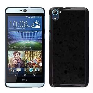 EJOY---Cubierta de la caja de protección para la piel dura ** HTC Desire D826 ** --Textura Negro