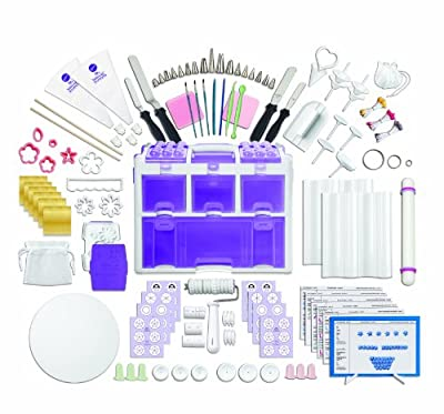 Wilton 2109-0309 Ultimate Professional Cake Decorating Set, Purple- Discontinued By Manufacturer