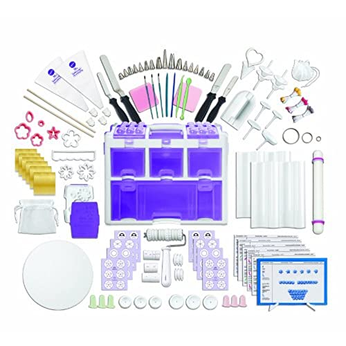 Wilton 2109 0309 Ultimate Professional Cake Decorating Set Purple Discontinued By Manufacturer