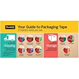 3750 Commercial Grade Packaging Tape w/Dispenser, 1.88'''' x 54.6yds, Clear, 4/Pack, Sold as 4 Each