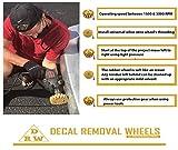 PanzerGlobal Car Decal Remover Wheel Set
