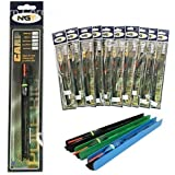 10 x Pole float Carp Fishing Tackle BARBLESS Ready Rigs Pole Match Fishing