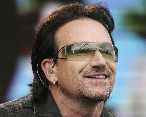 Bono Sunglasses Close Up U2 Candid 11x14 HD Aluminum for sale  Delivered anywhere in USA