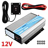 Power Inverter 2000W DC 12V to AC 230V/240V converter with remote controller & dual AC outlets for RV Truck Car GIANDEL
