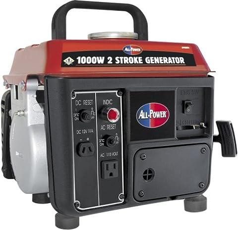 All Power America APG3004, 800 Running Watts/1000 Starting Watts, Gas Powered Portable Generator (Power Gas Generator)