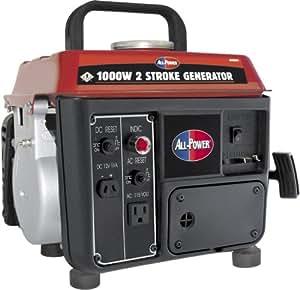 All Power America APG3004, 800 Running Watts/1000 Starting Watts, Gas Powered Portable Generator