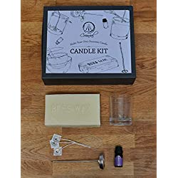 Beeswax Candle Making Kit Gift Set for Adults. Bec
