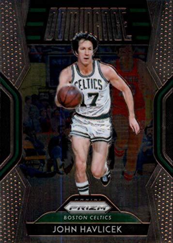a66f707b5 Amazon.com  2018-19 Panini Prizm Dominance  30 John Havlicek Boston Celtics  NBA Basketball Trading Card  Collectibles   Fine Art