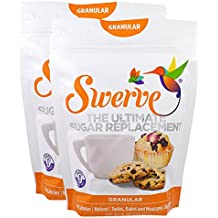 Swerve Sweetener, Granular, Value pack of 2, 12 Ounce each