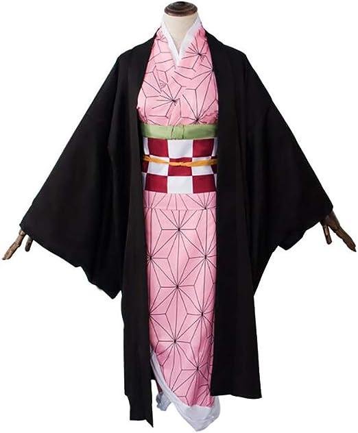 SHIXUE Disfraz Cosplay Kamado Nezuko Adulto Disfraz De Halloween ...