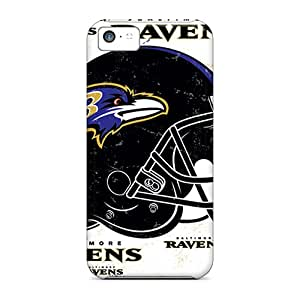 LauraAdamicska Iphone 5c Durable Hard Cell-phone Cases Unique Design High Resolution Baltimore Ravens Pictures [VYg17858nGvs]