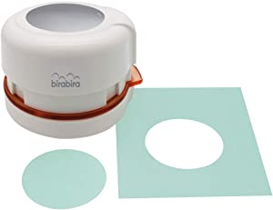 "Bira Craft 2"" Circle Magnetic Punch, Anywhere Punch, Everywhere Punch, Window Punch, Frame Punch, for Paper Crafting Scrapbooking (Circle)"