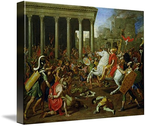 Imagekind Wall Art Print Entitled The Destruction of The Temples in Jerusalem by Tit by The Fine Art Masters | 10 x 7 (Destruction Of The Temple In Jerusalem 70 Ad)