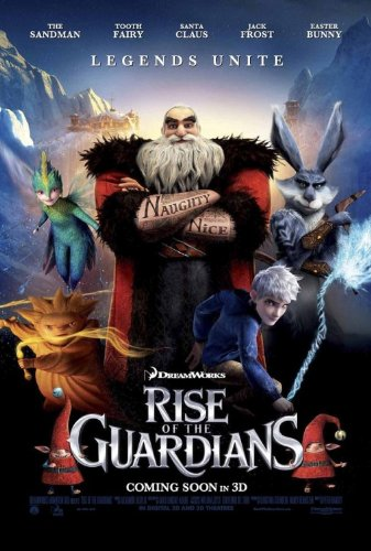 Resultado de imagem para rise of the guardians poster