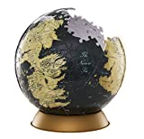 4D Cityscape Game of Thrones 3D Globe Puzzle (240 Piece), 6""