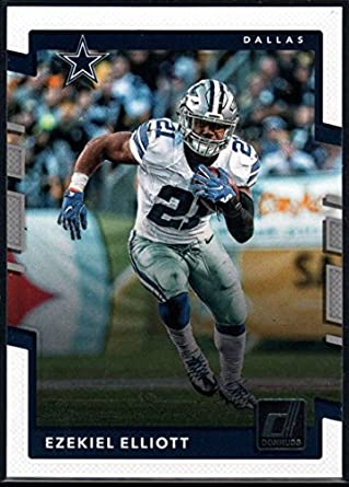 low priced 18d45 b8890 2017 Donruss #114 Ezekiel Elliott Dallas Cowboys Football Card