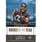 2017 Panini Contenders Rookie of the Year Contenders #7 Leonard Fournette Jacksonville.