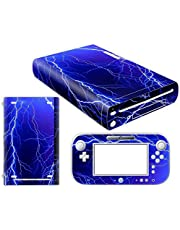 Nintendo Wii U Skin Design Foils Pegatina Set - Lightning Motivo