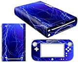 CSBC Skins Nintendo Wii U Design Foils Faceplate Set - Lightning Design