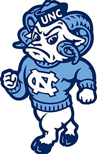 University Of North Carolina Tar Heels Logo NCAA Mascot Remeses Edible Cake Topper Image ABPID27806 - 1/8 sheet