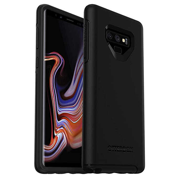 new product 46988 cc8d9 OtterBox Symmetry Series Case for Samsung Galaxy Note9 - Frustration Free  Packaging - Black