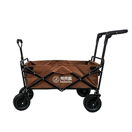 412691668b80 Amazon.com : YAXuan Garden Trolley, Foldable Pull Wagon Hand Truck ...