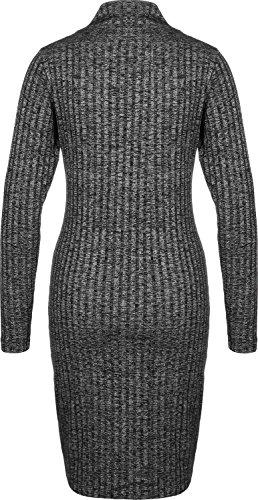 Meliert Jeans Schwarz Kleid W Calvin Grau Klein Dilon SvUxqw0x