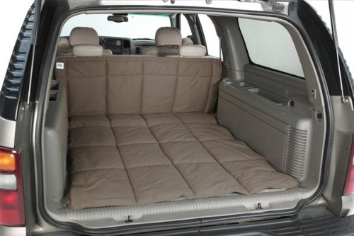 (Canine Covers Custom Fit Cargo Area Liner for Select Honda Pilot Models - Polycotton (Wet Sand))