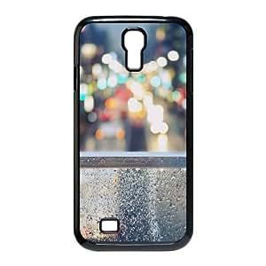 Tokyo Street Lights Bokeh Samsung Galaxy S4 9500 Cell Phone Case Black DIY Present pjz003_6555066