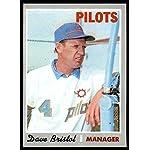 Verzamelkaarten, ruilkaarten 1969 Topps #234 Dave Bristol Cincinnati Reds Baseball Card