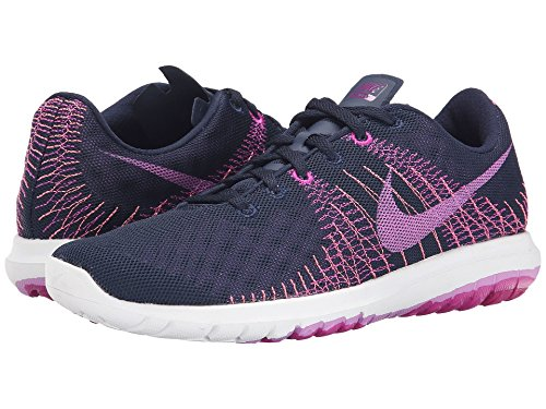 Obsidian Fuchsia Flash Flex Fury Sneakers joHaI1Kz