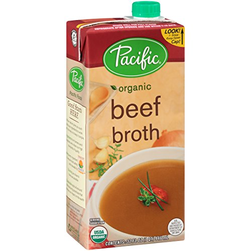 Pacific Foods Organic Beef Broth, 32 oz