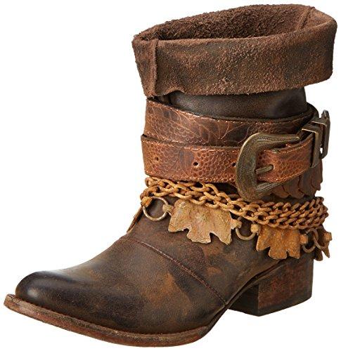 Freebird Kvinners Yerba Vestlige Boot Brown