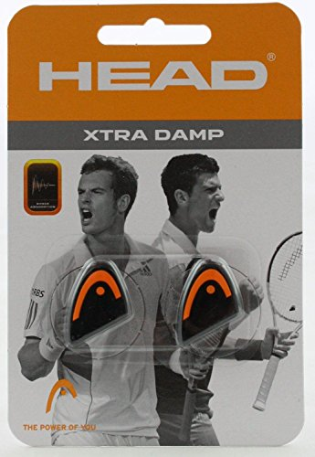 HEAD Xtra Damp Racquet Vibration Dampeners - 2-Pack, Assorted