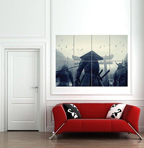 Doppelganger33LTD ASIAN WARRIORS SAMURAI JAPAN JAPANESE GIANT WALL ART PRINT PICTURE POSTER (Asian Art Poster)