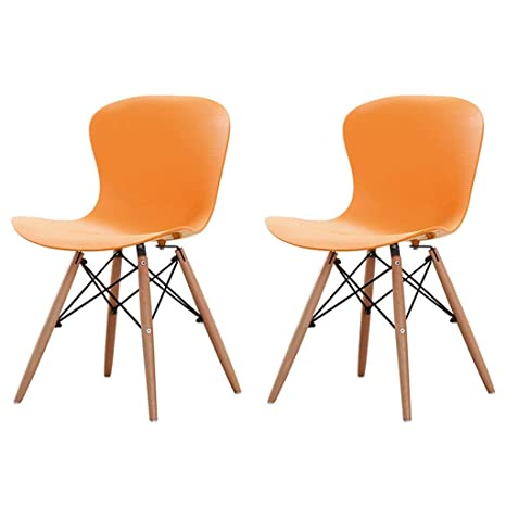 Amazon.com: Zcxbhd Juego de 2 sillas de comedor modernas ...