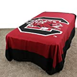 College Covers South Carolina Gamecocks 2 Sided Reversible Comforter, King