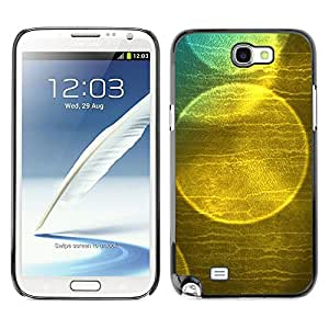 X-ray Impreso colorido protector duro espalda Funda piel de Shell para SAMSUNG Galaxy Note 2 II / N7100 - Bubble Soap Reflection Sun Nature
