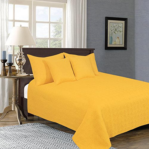 Image result for BRIGHT YELLOW BEDSPREAD