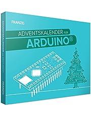 FRANZIS 55110 Arduino Adventskalender 2021, in 24 dagen voor een slim peperkoekhuis, voor kinderen vanaf 14 jaar