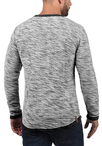 Black solid Flocks Coton Rond Col Capuche Homme 9000 Pull Avec Hoodie Sweat 100 npPOn