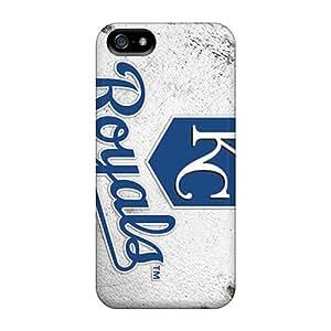 Excellent Hard Phone Case For Iphone 5/5s With Unique Design Vivid Kansas City Royals Series LauraAdamicska