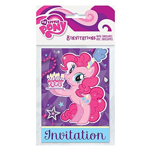 My Little Pony 'Pinkie Pie' Invitations w/ Envelopes