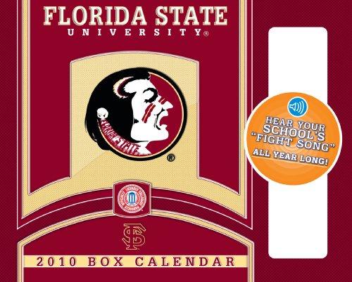 Florida State Seminoles - Box  With Sound 2010 Box Calendar - State 2010 Box Calendar