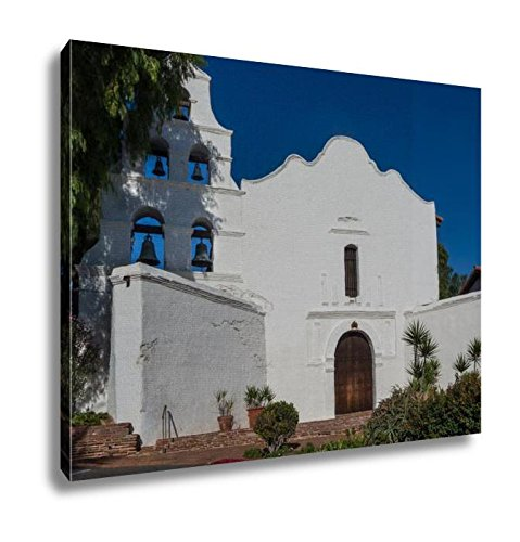 Ashley Canvas Mission San Diego De Alcala, Home Office, Ready to Hang, Color 20x25, AG6523027 by Ashley Canvas