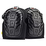 Heavy Duty Professional Gel Knee Pads for work - Comfortable Foam Padding for Men and Women - Best For Construction, Gardening, Flooring, Cleaning and Tiling