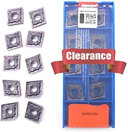 Txrh Drehbank CNMG120404 CNMG120408 HA PC9030 Externe Drehwerkzeug Hartmetalleinsatz for Edelstahl (Angle : 20PCS, Shank Diameter : CNMG120404 HS PC9030)