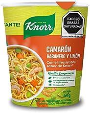 Sopa Lista ¡al instánte! Camarón Habanero Knorr 64g. Con un toque de Knorr. Vaso sin unicel. 64 gramos. El emp